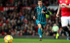 MANCHESTER, ENGLAND - DECEMBER 30: Southampton's Manolo Gabbiadini during the Premier League match between Manchester United and Southampton at Old Trafford on December 30, 2017 in Manchester, England. (Photo by Matt Watson/Southampton FC via Getty Images)