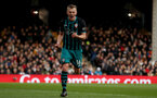 LONDON, ENGLAND - JANUARY 06: Southampton's James Ward-Prowse celebrates after putting his side 1-0 up during the Emirates FA Cup third round match between Fulham FC and Southampton FC at Craven Cottage on January 6, 2018 in London, England. (Photo by Matt Watson/Southampton FC via Getty Images)