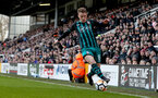LONDON, ENGLAND - JANUARY 06: Steven Davis of Southampton during the Emirates FA Cup third round match between Fulham FC and Southampton FC at Craven Cottage on January 6, 2018 in London, England. (Photo by Matt Watson/Southampton FC via Getty Images)