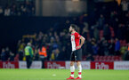 WATFORD, ENGLAND - JANUARY 13: Shane Long of Southampton during the Premier League match between Watford and Southampton at Vicarage Road on January 13, 2018 in Watford, England. (Photo by Matt Watson/Southampton FC via Getty Images)