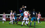 STOKE, ENGLAND - JANUARY 29: Aaron OÕDriscoll (middle during the match between Southampton FC and Stoke City FC U23s at St Georges Park Training Ground on January 29, 2018 in Southampton, England. (Photo by James Bridle / Southampton FC via Getty Images) STOKE, ENGLAND - JANUARY 29: Aaron O'Driscoll (middle during the match between Southampton FC and Stoke City FC U23s at St Georges Park Training Ground on January 29, 2018 in Southampton, England. (Photo by James Bridle / Southampton FC via Getty Images)