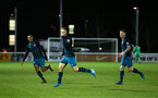 STOKE, ENGLAND - JANUARY 29: Jake Hesketh scores (middle) during the match between Southampton FC and Stoke City FC U23s at St Georges Park Training Ground on January 29, 2018 in Southampton, England. (Photo by James Bridle / Southampton FC via Getty Images)