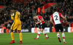 SOUTHAMPTON, ENGLAND - JANUARY 31: during the Premier League match between Southampton and Brighton and Hove Albion at St Mary's Stadium on January 31, 2018 in Southampton, England. (Photo by Chris Moorhouse/Southampton FC via Getty Images)