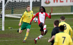 Taymar Fleary during the U18 PL match between Southampton and Norwich City, pictured at the Staplewood Campus, Southampton, 10th February 2018