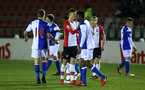 SOUTHAMPTON, ENGLAND - FEBRUARY 26: Final Whistle during the U23s match between Southampton FC and Blackburn FC, PLCup match on February 26, 2018 in Leyland in Blackburn, England. (Photo by James Bridle - Southampton FC/Southampton FC via Getty Images)