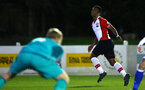 SOUTHAMPTON, ENGLAND - FEBRUARY 26: Siph Mdlalose (right) during the U23s match between Southampton FC and Blackburn FC, PLCup match on February 26, 2018 in Leyland in Blackburn, England. (Photo by James Bridle - Southampton FC/Southampton FC via Getty Images)