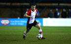 SOUTHAMPTON, ENGLAND - FEBRUARY 26: Jake Vokins during the U23s match between Southampton FC and Blackburn FC, PLCup match on February 26, 2018 in Leyland in Blackburn, England. (Photo by James Bridle - Southampton FC/Southampton FC via Getty Images)