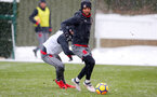 SOUTHAMPTON, ENGLAND - MARCH 02: Nathan Redmond of Southampton FC during a training session at the Staplewood Campus on March 2, 2018 in Southampton, England. (Photo by Matt Watson/Southampton FC via Getty Images)