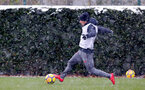 SOUTHAMPTON, ENGLAND - MARCH 02: Jeremy Pied of Southampton FC during a training session at the Staplewood Campus on March 2, 2018 in Southampton, England. (Photo by Matt Watson/Southampton FC via Getty Images)