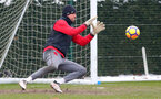 SOUTHAMPTON, ENGLAND - MARCH 02: Stuart Taylor of Southampton FC during a training session at the Staplewood Campus on March 2, 2018 in Southampton, England. (Photo by Matt Watson/Southampton FC via Getty Images)