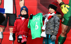 SOUTHAMPTON, ENGLAND - MARCH 03: Young Southampton FC fans ahead of the Premier League match between Southampton and Stoke City at St Mary's Stadium on March 3, 2018 in Southampton, England. (Photo by James Bridle - Southampton FC/Southampton FC via Getty Images)