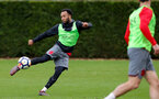 SOUTHAMPTON, ENGLAND - MARCH 16: Nathan Redmond during a Southampton FC training session at the Staplewood Campus on March 16, 2018 in Southampton, England. (Photo by Matt Watson/Southampton FC via Getty Images)