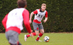SOUTHAMPTON, ENGLAND - MARCH 16: Josh Sims during a Southampton FC training session at the Staplewood Campus on March 16, 2018 in Southampton, England. (Photo by Matt Watson/Southampton FC via Getty Images)