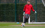 SOUTHAMPTON, ENGLAND - MARCH 16: Fraser Forster during a Southampton FC training session at the Staplewood Campus on March 16, 2018 in Southampton, England. (Photo by Matt Watson/Southampton FC via Getty Images)