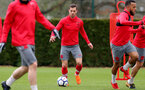 SOUTHAMPTON, ENGLAND - MARCH 29: Cedric during a Southampton FC training session at the Staplewood Campus on March 29, 2018 in Southampton, England. (Photo by Matt Watson/Southampton FC via Getty Images)