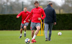 SOUTHAMPTON, ENGLAND - MARCH 29: Jack Stephens during a Southampton FC training session at the Staplewood Campus on March 29, 2018 in Southampton, England. (Photo by Matt Watson/Southampton FC via Getty Images)