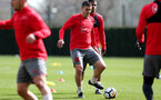 SOUTHAMPTON, ENGLAND - APRIL 06: Oriol Romeu during a Southampton FC training session at the Staplewood Campus on April 6, 2018 in Southampton, England. (Photo by Matt Watson/Southampton FC via Getty Images)