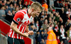 James Ward-Prowse celebrates during the Premier League match between Southampton and Crystal Palace at St Mary's Stadium, Southampton, England on 5 April 2017. Photo by Matt Watson/SFC/Digital South.