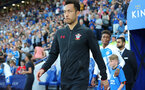 LEICESTER, ENGLAND - APRIL 19: Maya Yoshida of Southampton during the Premier League match between Leicester City and Southampton at The King Power Stadium on April 19, 2018 in Leicester, England. (Photo by Matt Watson/Southampton FC via Getty Images)