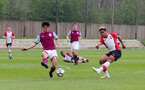 Enzo Robise of Southampton scores his teams second goal during the U18 premier league match between Southampton and Aston Villa, at the Staplewood Campus, Southampton, 21st April 2018