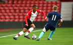 SOUTHAMPTON, ENGLAND - APRIL 23: Yan Valery (left) during the PL2 match between Southampton FC and Middlesbrough FC atSt Mary's Stadium on April 23, 2018 in Southampton, England. (Photo by James Bridle - Southampton FC/Southampton FC via Getty Images)