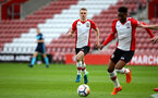 SOUTHAMPTON, ENGLAND - APRIL 23: Jakes Hesketh (middle) during the PL2 match between Southampton FC and Middlesbrough FC atSt Mary's Stadium on April 23, 2018 in Southampton, England. (Photo by James Bridle - Southampton FC/Southampton FC via Getty Images)
