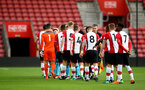 SOUTHAMPTON, ENGLAND - APRIL 23: Teams shake hands ahead of kick off for the PL2 match between Southampton FC and Middlesbrough FC atSt Mary's Stadium on April 23, 2018 in Southampton, England. (Photo by James Bridle - Southampton FC/Southampton FC via Getty Images)