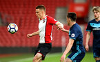 SOUTHAMPTON, ENGLAND - APRIL 23: Jake Hesketh (left) during the PL2 match between Southampton FC and Middlesbrough FC atSt Mary's Stadium on April 23, 2018 in Southampton, England. (Photo by James Bridle - Southampton FC/Southampton FC via Getty Images)