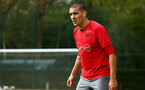 SOUTHAMPTON, ENGLAND - APRIL 24: Oriol Romeu during an open training session with Southampton FC at Staplewood Complex on April 24, 2018 in Southampton, England. (Photo by James Bridle - Southampton FC/Southampton FC via Getty Images)