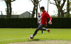 SOUTHAMPTON, ENGLAND - APRIL 26: Alex McCarthy during a Southampton FC training session at Staplewood Complex on April 26, 2018 in Southampton, England. (Photo by James Bridle - Southampton FC/Southampton FC via Getty Images)