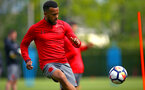 SOUTHAMPTON, ENGLAND - APRIL 26: Ryan Bertrand during a Southampton FC training session at Staplewood Complex on April 26, 2018 in Southampton, England. (Photo by James Bridle - Southampton FC/Southampton FC via Getty Images)
