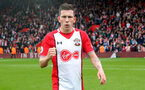 SOUTHAMPTON, ENGLAND - APRIL 28: Pierre-Emile Hojbjerg of Southampton during the Premier League match between Southampton and AFC Bournemouth at St Mary's Stadium on April 28, 2018 in Southampton, England. (Photo by Matt Watson/Southampton FC via Getty Images)