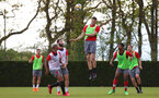 SOUTHAMPTON, ENGLAND - MAY 03: Wesley Hoedt during a Southampton FC training session at the Staplewood Campus on May 3, 2018 in Southampton, England. (Photo by Matt Watson/Southampton FC via Getty Images)