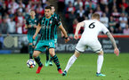 SWANSEA, WALES - MAY 08: Dusan Tadic of Southampton during the Premier League match between Swansea City and Southampton at Liberty Stadium on May 8, 2018 in Swansea, Wales. (Photo by Matt Watson/Southampton FC via Getty Images)