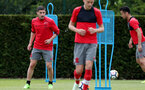 SOUTHAMPTON, ENGLAND - MAY 11: Jeremy Pied during a Southampton FC training session at the Staplewood Campus on May 11, 2018 in Southampton, England. (Photo by Matt Watson/Southampton FC via Getty Images)