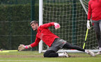 SOUTHAMPTON, ENGLAND - MAY 11: Fraser Forster during a Southampton FC training session at the Staplewood Campus on May 11, 2018 in Southampton, England. (Photo by Matt Watson/Southampton FC via Getty Images)
