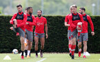 SOUTHAMPTON, ENGLAND - MAY 11: Shane Long(L) and Callum Slattery(R) during a Southampton FC training session at the Staplewood Campus on May 11, 2018 in Southampton, England. (Photo by Matt Watson/Southampton FC via Getty Images)