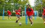 SOUTHAMPTON, ENGLAND - MAY 11: during a Southampton FC training session at Staplewood Complex on May 11, 2018 in Southampton, England. (Photo by James Bridle - Southampton FC/Southampton FC via Getty Images)