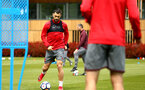 SOUTHAMPTON, ENGLAND - MAY 11: Charlie Austin (left) during a Southampton FC training session at Staplewood Complex on May 11, 2018 in Southampton, England. (Photo by James Bridle - Southampton FC/Southampton FC via Getty Images)