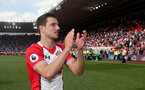 SOUTHAMPTON, ENGLAND - MAY 13: Cedric of Southampton during the Premier League match between Southampton and Manchester City at St Mary's Stadium on May 13, 2018 in Southampton, England. (Photo by Matt Watson/Southampton FC via Getty Images)