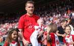 SOUTHAMPTON, ENGLAND - MAY 13: Steven Davis of Southampton during the Premier League match between Southampton and Manchester City at St Mary's Stadium on May 13, 2018 in Southampton, England. (Photo by Matt Watson/Southampton FC via Getty Images)