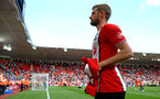 SOUTHAMPTON, ENGLAND - MAY 13: Jack Stephens of Southampton FC during the lap of appreciation after the Premier League match between Southampton and Manchester City at St Mary's Stadium on May 13, 2018 in Southampton, England. (Photo by James Bridle - Southampton FC/Southampton FC via Getty Images)