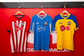 Gallery: Saints' new Under Armour kits