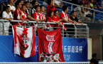 KUNSHAN, CHINA - JULY 05: Southampton FC fans during the pre season 2018 Clubs Super Cup match between Southampton FC and FC Schalke, at Kunshan Sports Center on July 5, 2018 in Kunshan, China. (Photo by Matt Watson/Southampton FC via Getty Images)