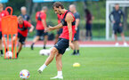 SHANGHAI, CHINA - JULY 10: Manolo Gabbiadini during a Southampton FC training session, while on their pre season tour of China, on July 10, 2018 in Xuzhou, China. (Photo by Matt Watson/Southampton FC via Getty Images)