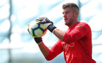 SOUTHAMPTON, ENGLAND - JULY 16: Fraser Forster during a Southampton FC training session at the Staplewood Campus on July 16, 2018 in Southampton, England. (Photo by Matt Watson/Southampton FC via Getty Images)