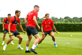Gallery: Vestergaard's first training session