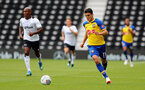 DERBY, ENGLAND - JULY 21: Mohamed Elyounoussi of Southampton during the pre-season friendly match between Derby County and Southampton at Pride Park on July 21, 2018 in Derby, England. (Photo by Matt Watson/Southampton FC via Getty Images)