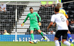 DERBY, ENGLAND - JULY 21: Alex McCarthy of Southampton during the pre-season friendly match between Derby County and Southampton at Pride Park on July 21, 2018 in Derby, England. (Photo by Matt Watson/Southampton FC via Getty Images)