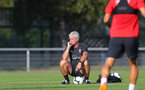 EVIAN-LES-BAINS, FRANCE - JULY 23: Mark Hughes as Southampton FC take part in their first day of their pre-season training camp, on July 23, 2018 in Evian-les-Bains, France. (Photo by Matt Watson/Southampton FC via Getty Images)
